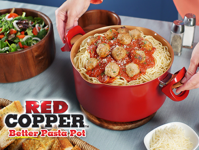 Red Copper™ Better Pasta Pot™ Video